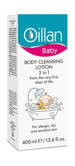 Body cleansing lotion 2 in 1