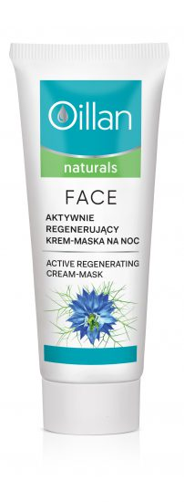 Active regenerating face cream-mask