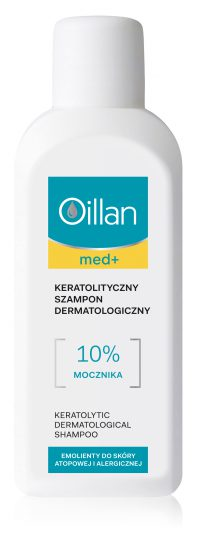 Keratolytic dermatological shampoo